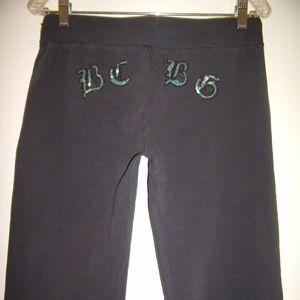 Beautiful Sequins Beaded Charcoal Gray Pants